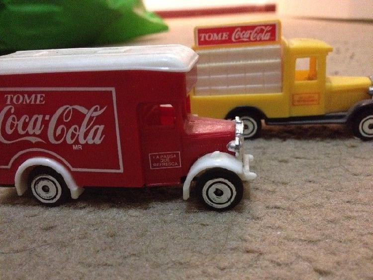 Colección de camiones de Coca Cola