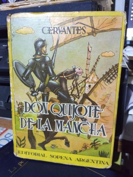Don Quijote De La Mancha Editorial Sopena