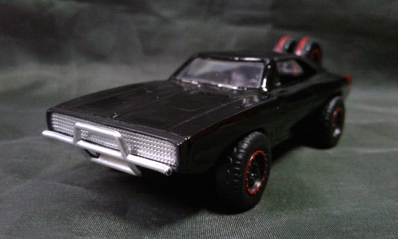 Dodge charger 70 off road jada 1:55 nuevo