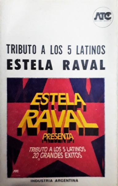 Estela Raval Tributo A Los 5 Latinos 20 Grandes Éxitos