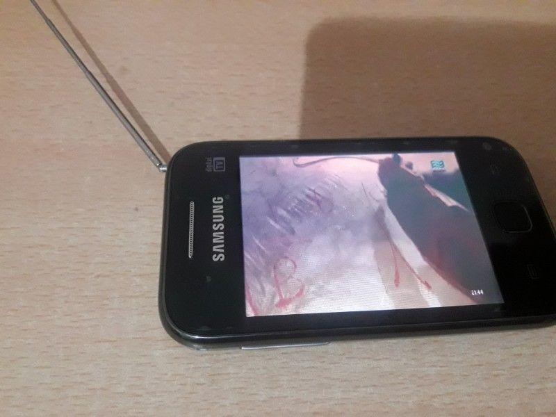 Samsung con TV digital.