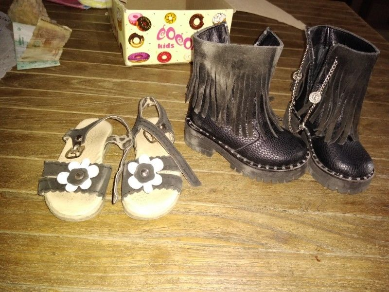 Sandalias y botas