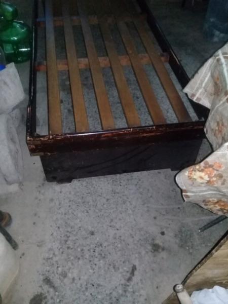 Vendo cama sencilla de una plaza 500