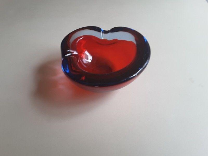 Cenicero cristal color Murano