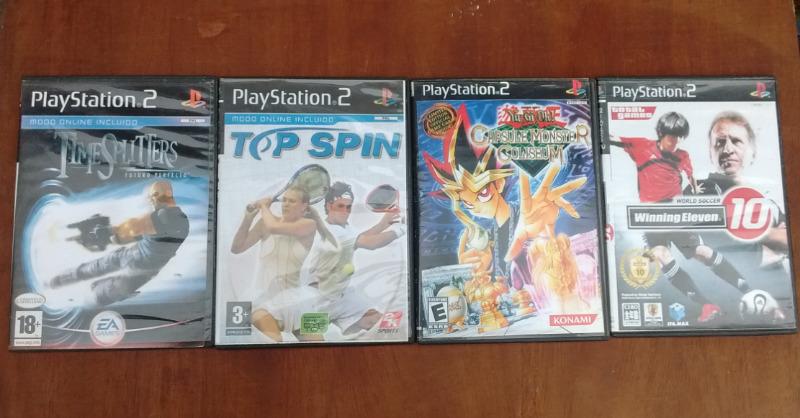 Juegos de PS2 usados