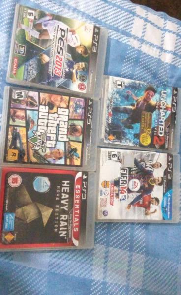 Vendo juegos de ps3 todo x  pesos
