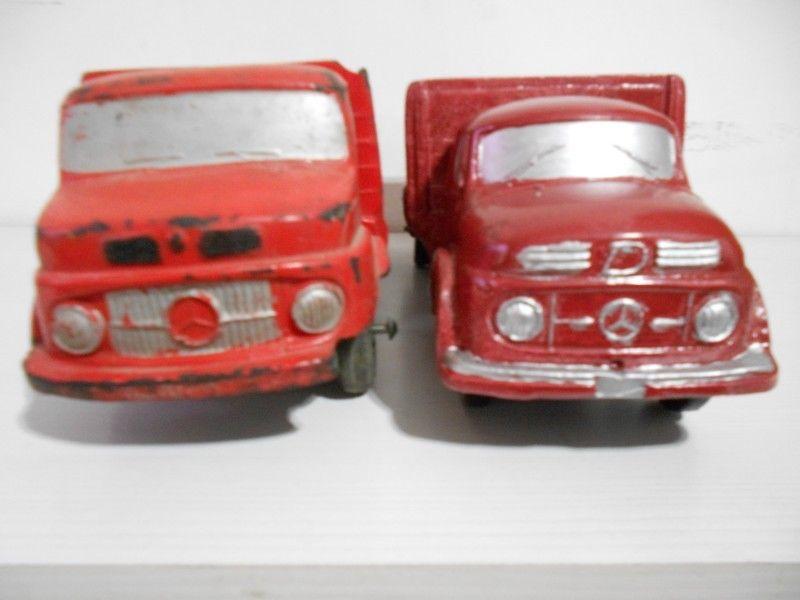 duravit camión Mercedes Benz muy antiguo