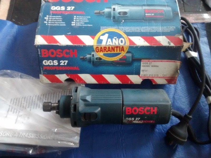 Amoladora Recta Bosch 500w GGS 27 Industrial