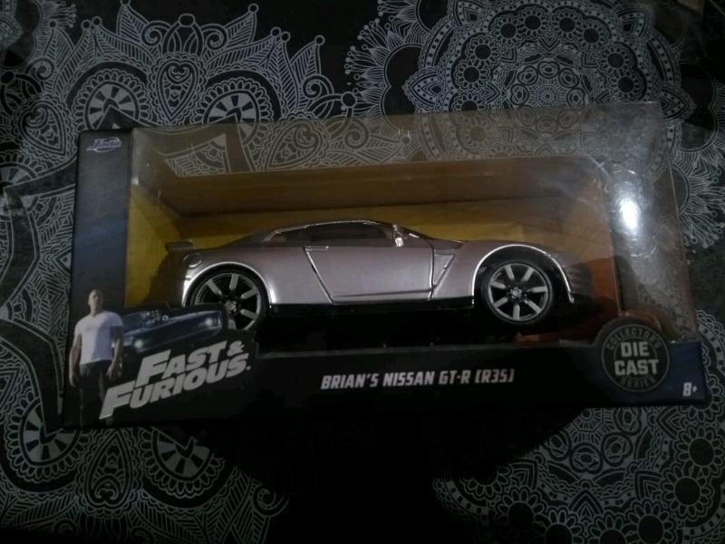 Autos de coleccion rapidos y furiosos Nissan GT-R