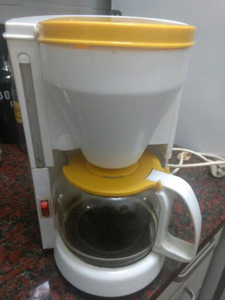 Cafetera electrica usada