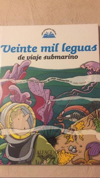 Libro 20000 Leguas de Viaje Submarino. Alfaguara
