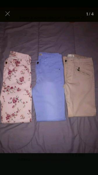 Vendo 3 pantalones Zara sin uso