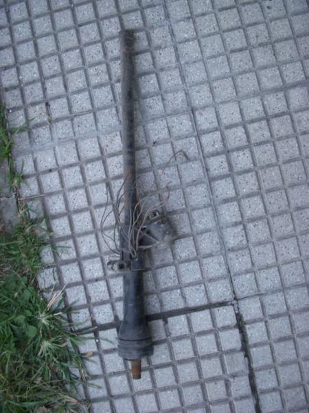 repuesto fiat, columna de direccion original usada fiat 800