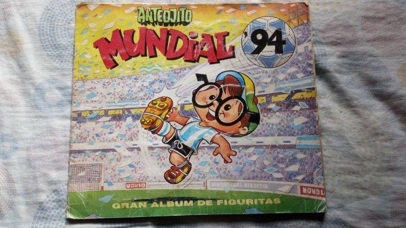 Album Figuritas Anteojito Mundial 94 Completo