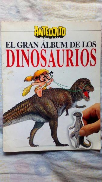 El Gran Album de los Dinosaurios de Anteojito Completo