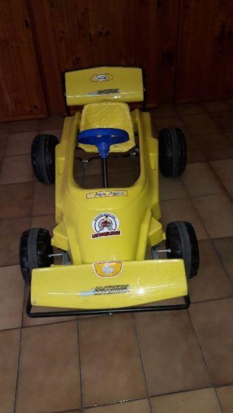 Karting a pedal nuevo