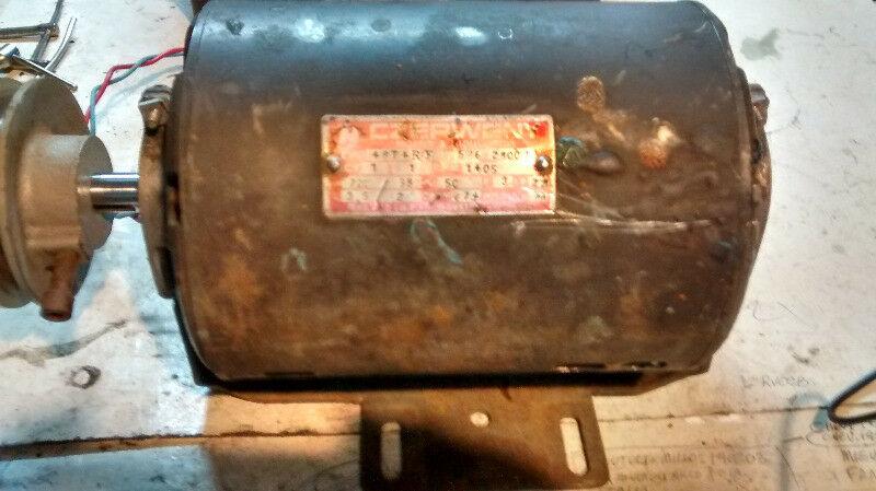 Motor eléctrico trifasico /monofasico