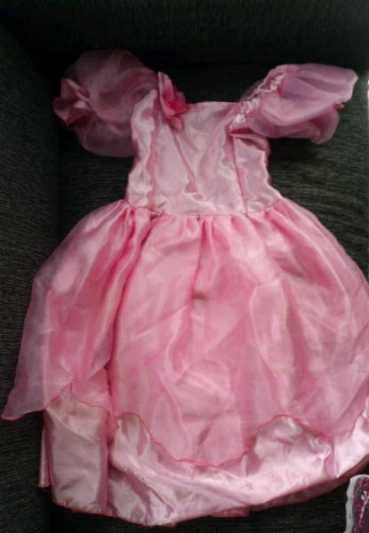 Vestido princesa + tutu para nena