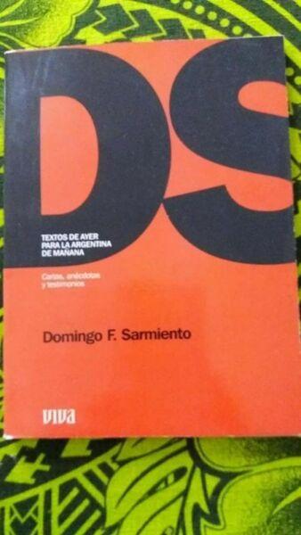 libro Cartas, anécdotas y testimonios. DOMINGO F. SARMIENTO