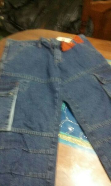 Jean azul nuevo Talle ) WRGE 6 bolsillos