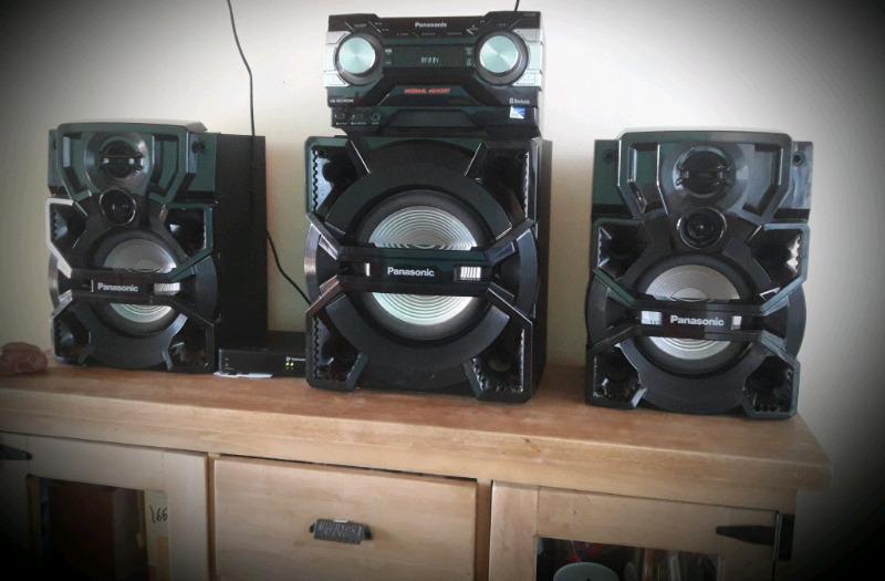 Vendo sistema de audio panasonic!