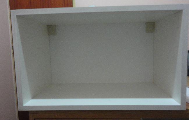 alacena porta microondas 60 x 36 x 32 nueva oportunidad