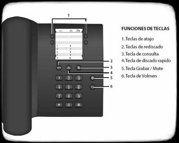 Teléfono Fijo Gigaset DA100 De Mesa o Pared - Nuevo