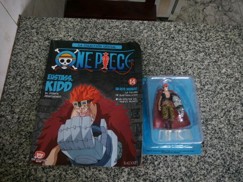 Vendo muñeco one piece numero 14 el pirata despiadado