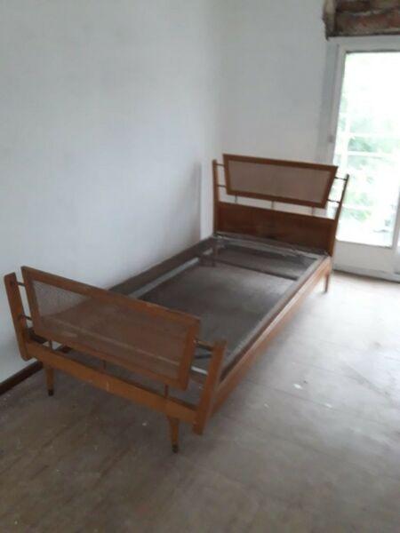dos camas de 1 1/2 plazas