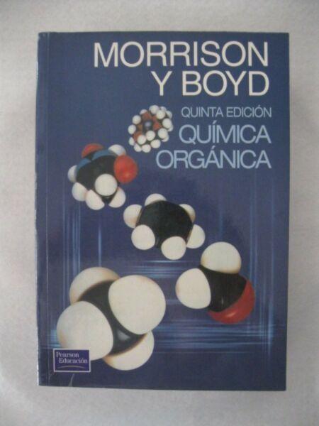 Libro Química Orgánica - Morrison y Boyd - 5°Edición