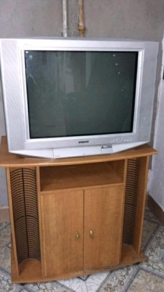 Vendo TV 29 Pulgadas pantalla plana SONY TRINITRON con mesa