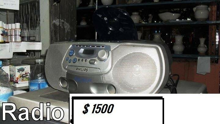 radograbador con reproductor de cd