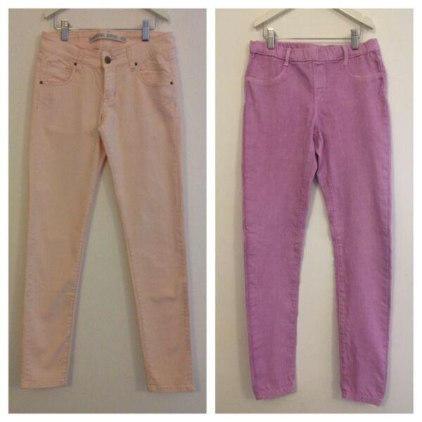2 Pantalones Zara Kids y Materia Nena Talle 14 (2 x $690)