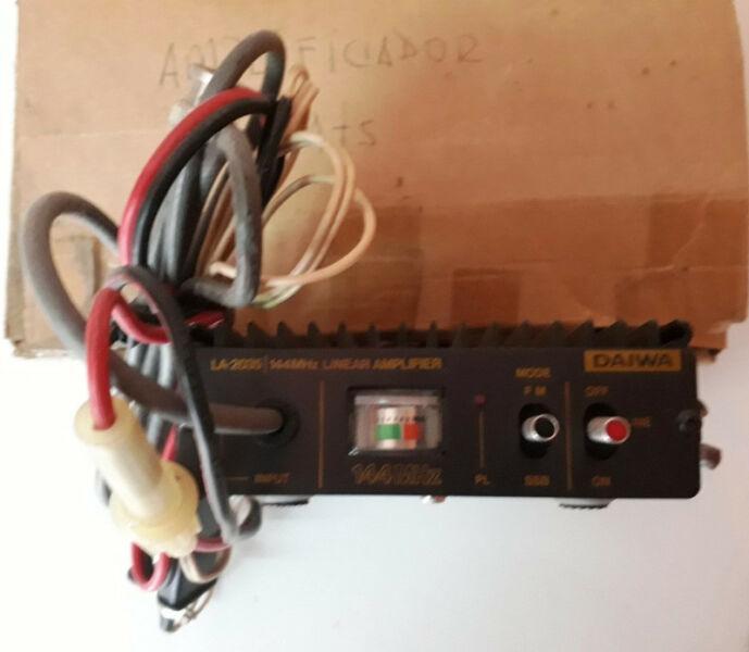 Amplificador Señal Vhf 2 Mts. Radioaficionado 30 W Daiwa