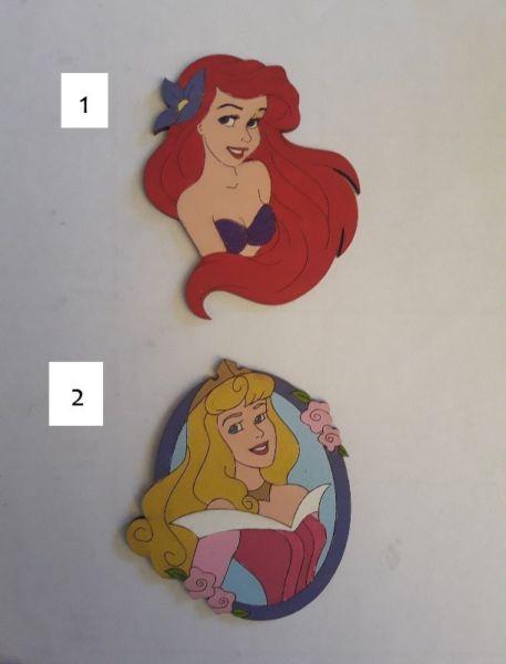 Disney Princesas y Hadas figuras medianas madera decoración