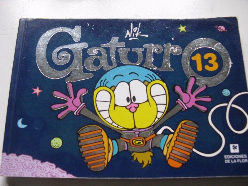 Historieta Gaturro nro. 13 Nik