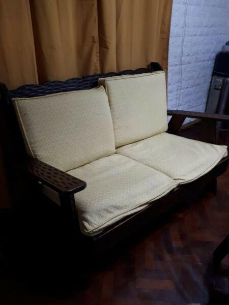 Juego completo de sillón de 2 cuerpos + 2 sillones de un