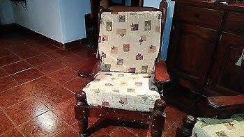Juego de sillones de Algarrobo.