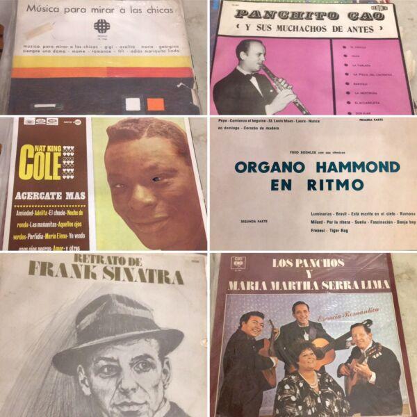 LÍQUIDO: VINILOS LP VARIADOS 30 $ c/u o LOTE de 17 discos x