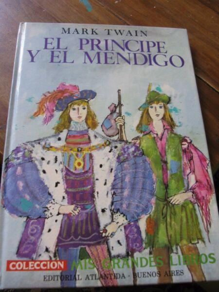 Libro Cuento El Principe y El Mendigo