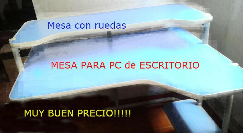 Mesa Escritorio para Computadora DOBLE MESADA
