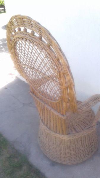 Vendo sillones de mimbre