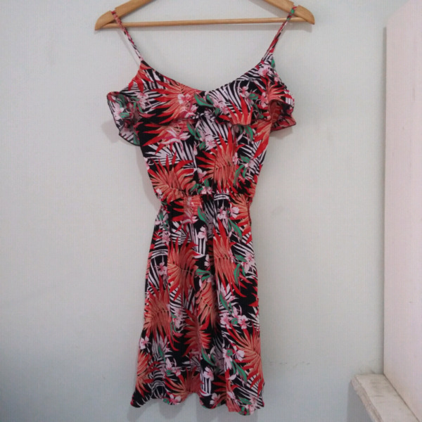 Vestido corto de verano talle único