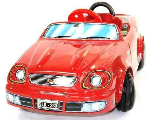 auto a pedal carroceria de pvc karting infantil chasis