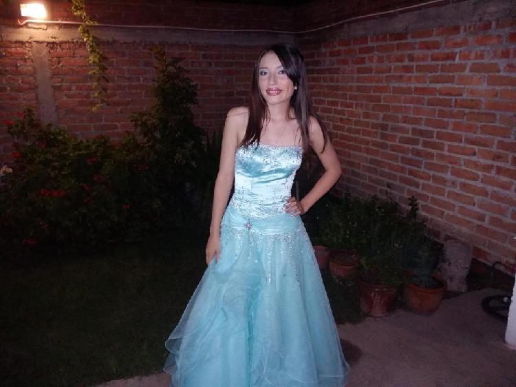 vestido de fiesta, 15 o egresada.