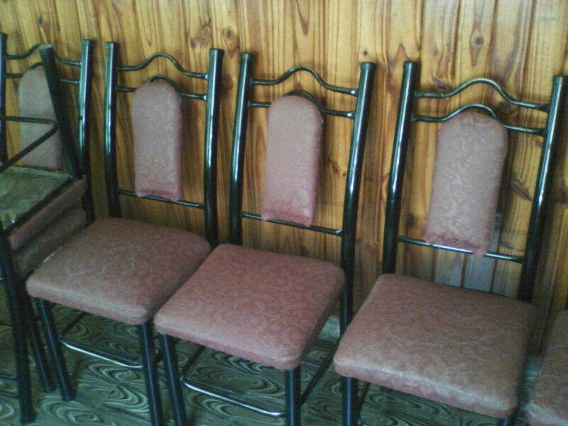 6 sillas para reparar