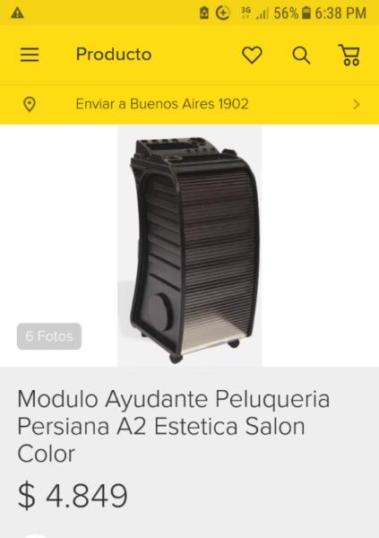 AYUDANTE DE PELUQUERIA