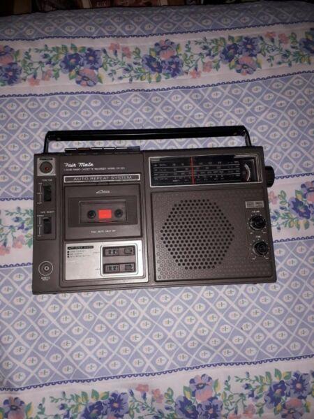 Radio usada antigua