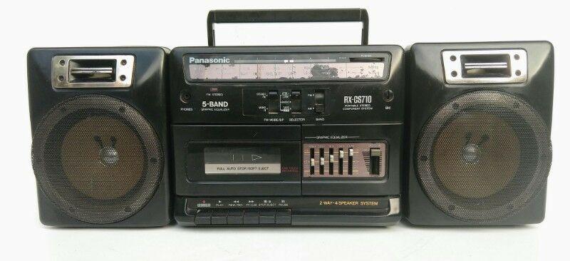 Radiograbador panasonic stereo