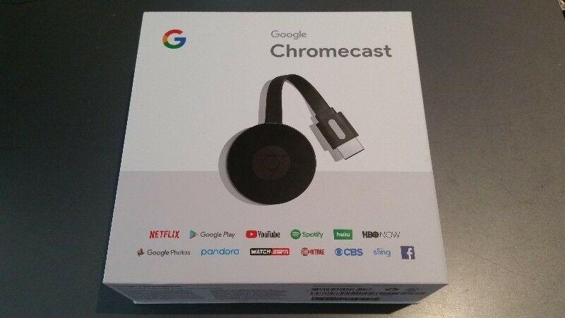 Vendo Google Chromecast 2 nuevo en caja o permuto por Roku